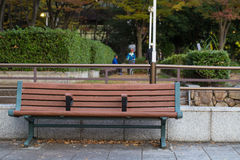 Empty bench Royalty Free Stock Photography