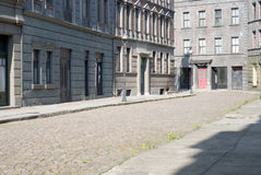 Empty berliner street Royalty Free Stock Photo
