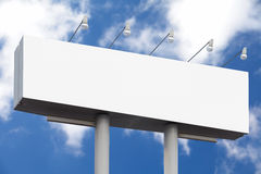 Empty big advertisement  billboard Royalty Free Stock Photography