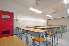 Empty big classroom Stock Photography