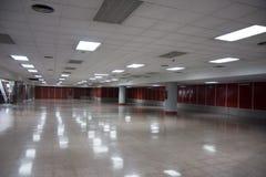 Empty big room. With a shinny floor stock photo