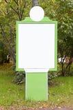 Empty biilboard Stock Photography