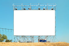 Empty billboard Royalty Free Stock Photography