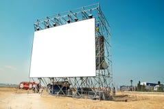 Empty billboard Stock Photography