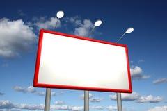 Empty billboard Stock Images