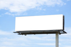 Empty Billboard Stock Image