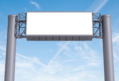 Empty Billboard Royalty Free Stock Photos