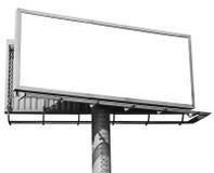 Empty Billboard Isolated Stock Photos