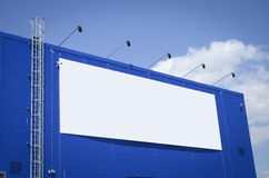 Empty billboard Stock Images
