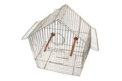 Empty bird cage Royalty Free Stock Photography