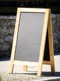 Empty black board Royalty Free Stock Photos
