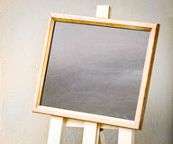 Empty black board Royalty Free Stock Image