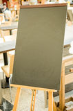 Empty black board Stock Photos