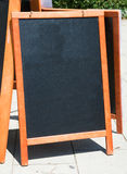 Empty black board Royalty Free Stock Image