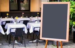 Empty black board Royalty Free Stock Photo