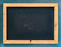 Empty black board Royalty Free Stock Photography