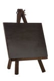 Empty black canvas Stock Images