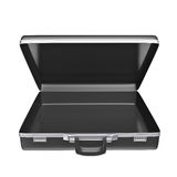 Empty black case Stock Images