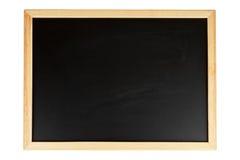 Empty black chalkboard Royalty Free Stock Image