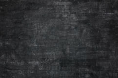 Empty black chalkboard blackboard Stock Photography