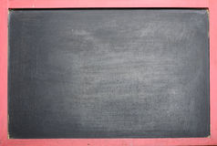 Empty Black Chalkboard Stock Image