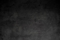 Empty black concrete surface texture Stock Photography