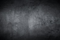 Empty black concrete surface texture Stock Images