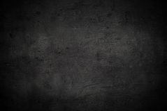 Empty black concrete surface texture Stock Photography
