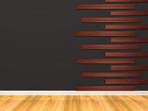 Empty Black room Stock Image