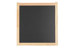 Empty black school board Royalty Free Stock Photography