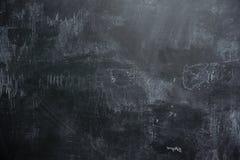Empty black slate background. Background of Empty black slate wall or schoolboard Stock Photo