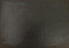 Empty blackboard in a classroom Stock Photo