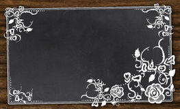 Empty Blackboard with Clipping Path Royalty Free Stock Photography