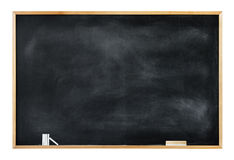 Empty Blackboard with Copy Space Royalty Free Stock Image