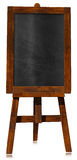 Empty Blackboard on a Easel Royalty Free Stock Photos