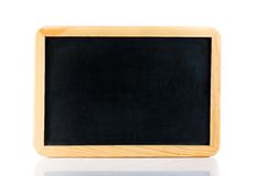 Empty blackboard isolated Royalty Free Stock Photos
