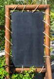 Empty blackboard, menu board Stock Image