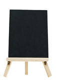 Empty blackboard with tripod wooden Royalty Free Stock Photography
