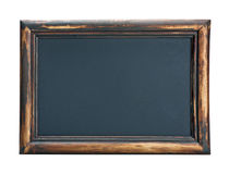 Empty blackboard with wooden frame Stock Photos