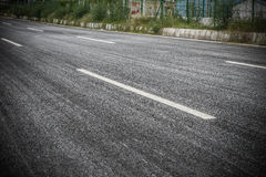 Empty blacktop Stock Photos