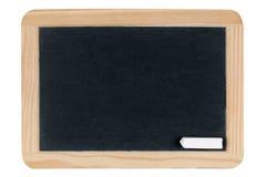 Empty blank black chalkboard Stock Photo