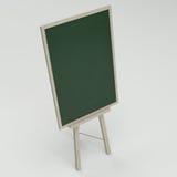 Empty blank green chalkboard Royalty Free Stock Image