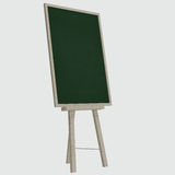 Empty blank green chalkboard Royalty Free Stock Image