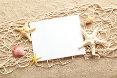 Empty blank of sheet paper Royalty Free Stock Images