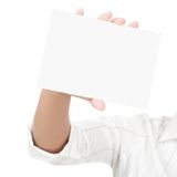 Empty blank sign Royalty Free Stock Photos