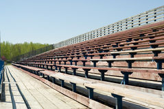Empty Bleachers Royalty Free Stock Photography