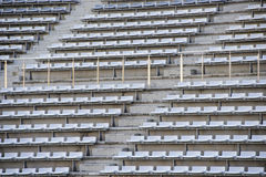 Empty bleachers Stock Image
