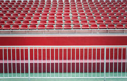 Empty bleachers Royalty Free Stock Images