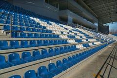 Empty bleachers - Stadium seats Royalty Free Stock Photography