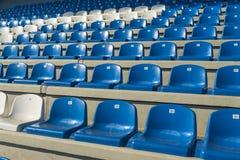 Empty bleachers - Stadium seats Stock Image